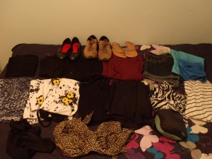 My clothes and shoes