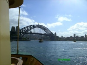 ... to Sydney